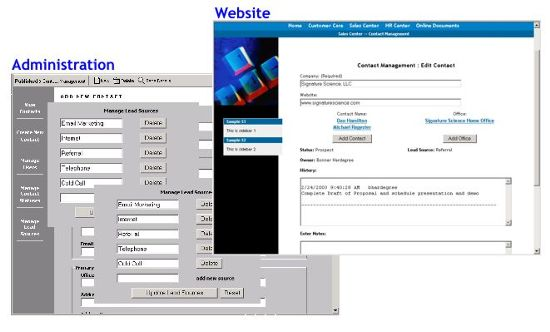 Dynamic Web Application: Contact Management